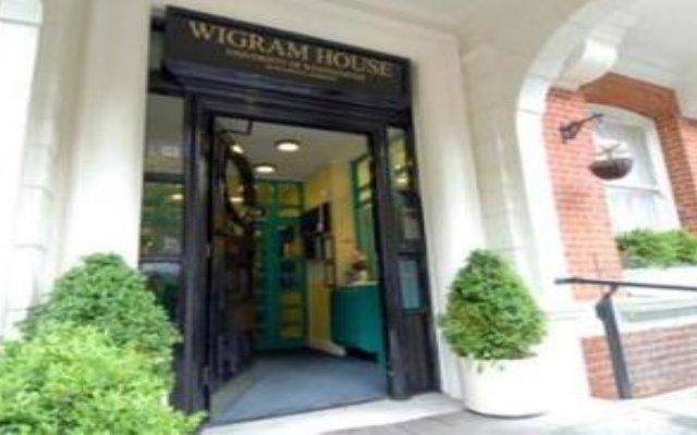 Отель Wigram House Великобритания, Лондон - отзывы, цены и фото номеров - забронировать отель Wigram House онлайн вид на фасад
