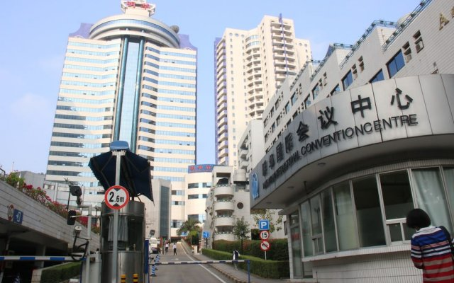 Отель Ming Wah International Convention Centre Шэньчжэнь вид на фасад