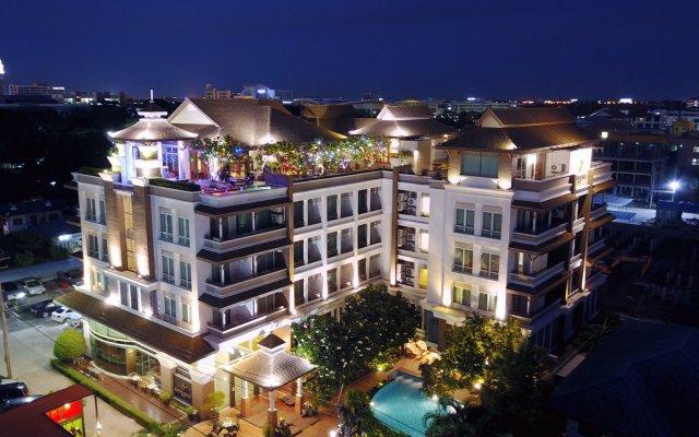 Отель Suvarnabhumi Suite Бангкок вид на фасад