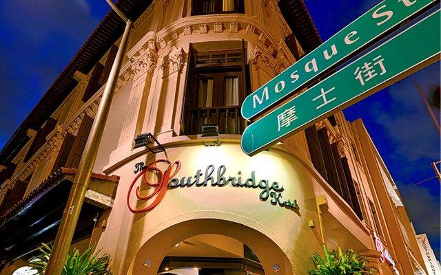 Отель The Southbridge Сингапур вид на фасад