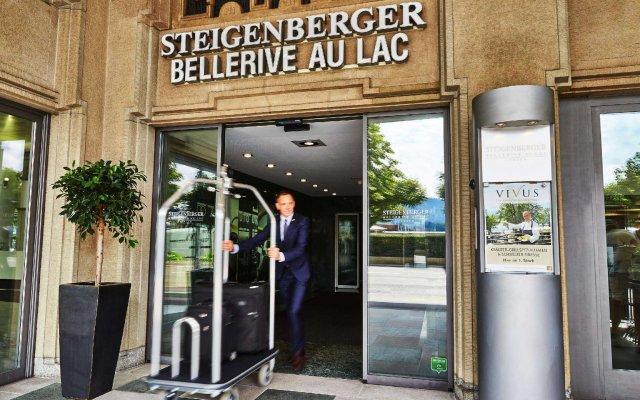 Steigenberger Hotel Bellerive au Lac вид на фасад