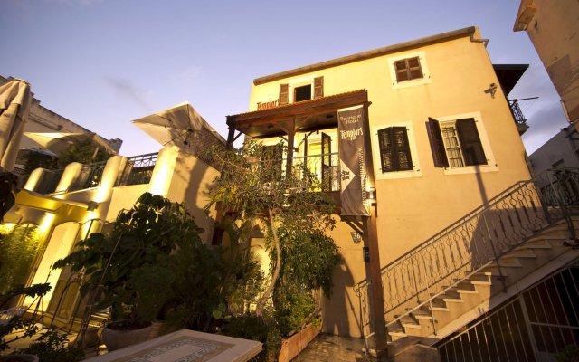 Templars Boutique Hotel Хайфа вид на фасад