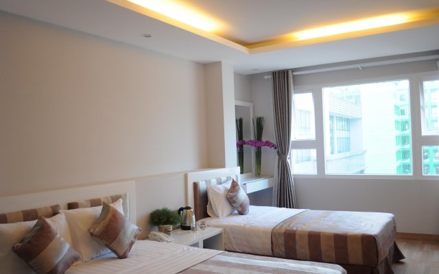 Van Nam Hotel Nha Trang Нячанг комната для гостей