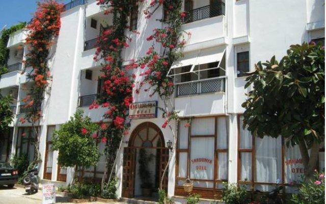 Sardunya Hotel Каш вид на фасад