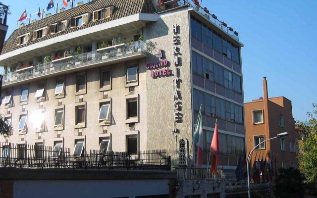 Отель Hermitage Италия, Флоренция - 1 отзыв об отеле, цены и фото номеров - забронировать отель Hermitage онлайн вид на фасад