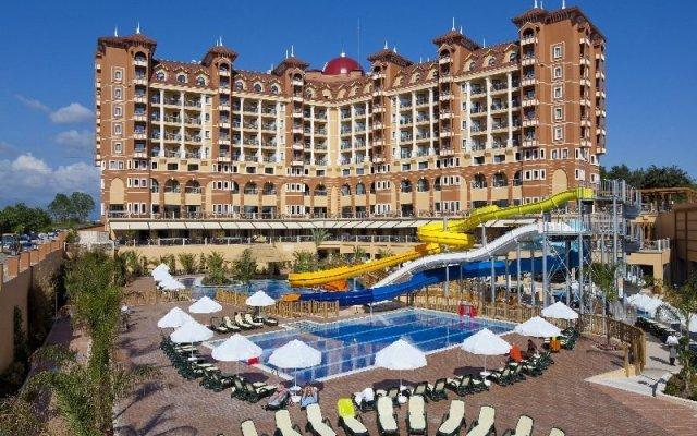 Villa Side Residence Турция, Сиде - 4 отзыва об отеле, цены и фото номеров - забронировать отель Villa Side Residence - All Inclusive онлайн вид на фасад