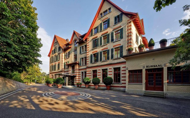 Отель Sorell Hotel Zürichberg Швейцария, Цюрих - 2 отзыва об отеле, цены и фото номеров - забронировать отель Sorell Hotel Zürichberg онлайн вид на фасад