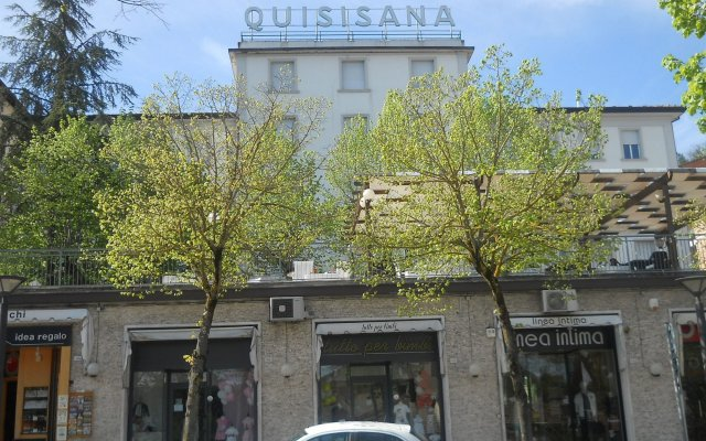 Hotel Quisisana Кьянчиано Терме вид на фасад