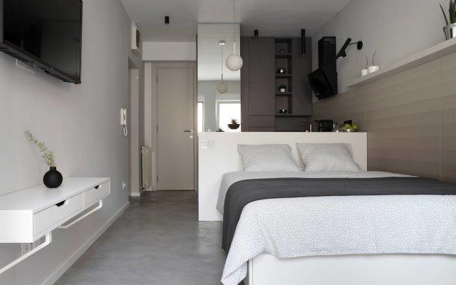 Апартаменты Temple Apartments комната для гостей