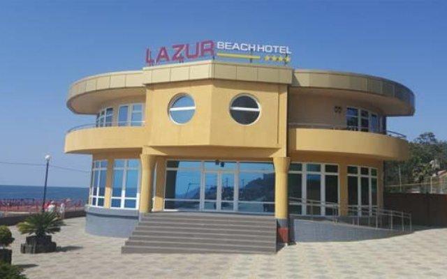 Гостиница Лазурь Бич Отель в Сочи 2 отзыва об отеле, цены и фото номеров - забронировать гостиницу Лазурь Бич Отель онлайн вид на фасад
