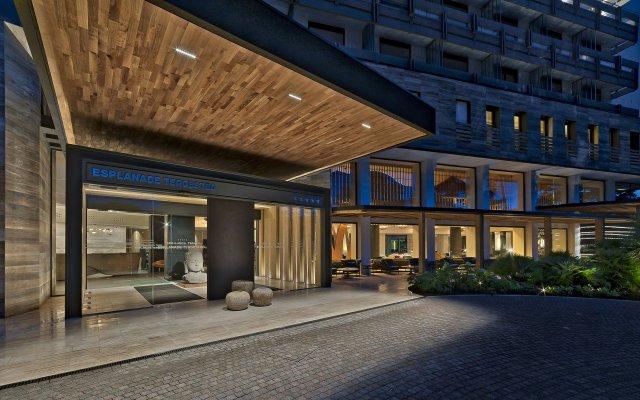 Отель Esplanade Tergesteo Италия, Монтегротто-Терме - отзывы, цены и фото номеров - забронировать отель Esplanade Tergesteo онлайн вид на фасад