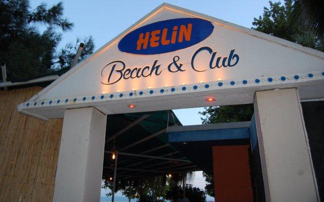 Erdek Helin Hotel вид на фасад