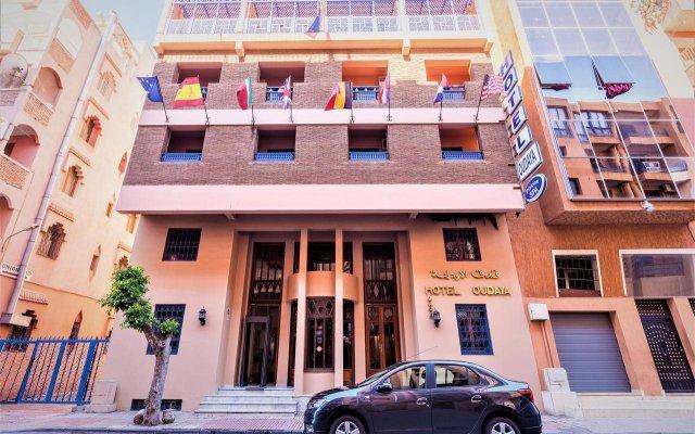Отель Oudaya вид на фасад