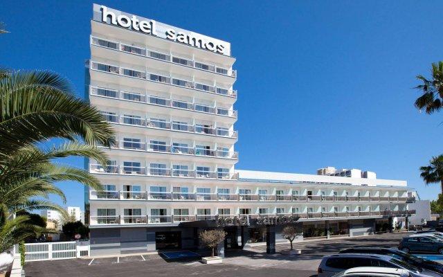 Hotel Samos вид на фасад
