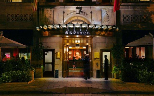 Отель Sofitel Washington DC Lafayette Square США, Вашингтон - 1 отзыв об отеле, цены и фото номеров - забронировать отель Sofitel Washington DC Lafayette Square онлайн вид на фасад