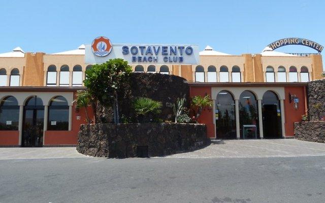 Отель Sotavento Beach Club Коста Кальма вид на фасад