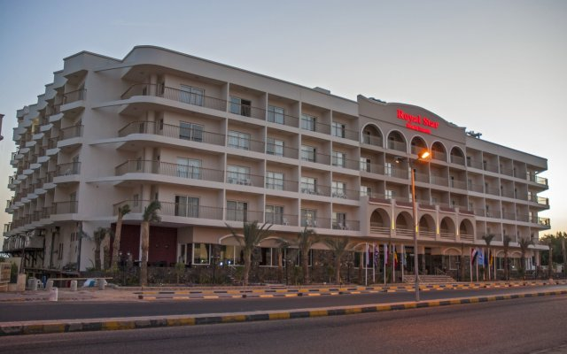 Отель Royal Star Beach Resort вид на фасад
