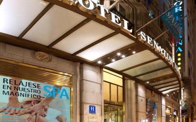 Отель Senator Gran Vía 70 Spa Hotel Испания, Мадрид - 14 отзывов об отеле, цены и фото номеров - забронировать отель Senator Gran Vía 70 Spa Hotel онлайн вид на фасад
