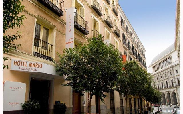 Отель Room Mate Mario Испания, Мадрид - 2 отзыва об отеле, цены и фото номеров - забронировать отель Room Mate Mario онлайн вид на фасад