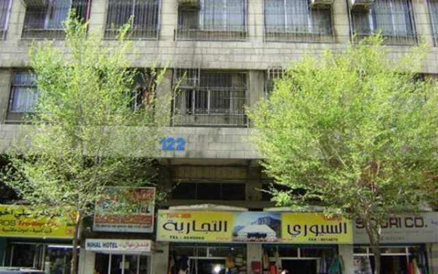 Nihal Hotel Jordan вид на фасад