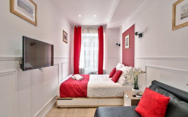 Отель 81 - Paris Luxe Sebastopol комната для гостей