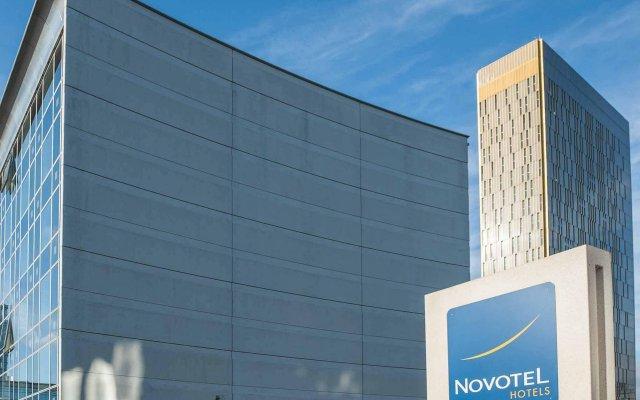 Отель Novotel Luxembourg Kirchberg вид на фасад