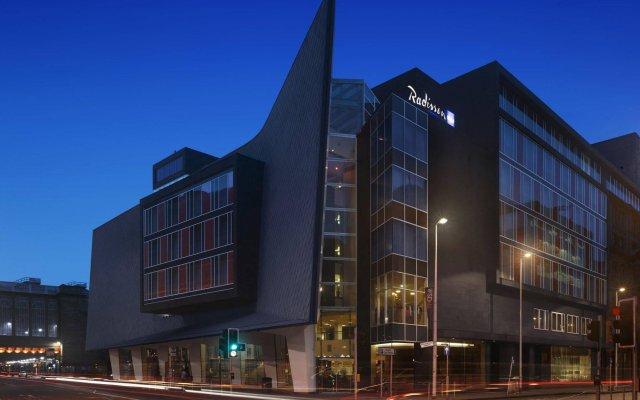 Radisson Blu Hotel, Glasgow вид на фасад