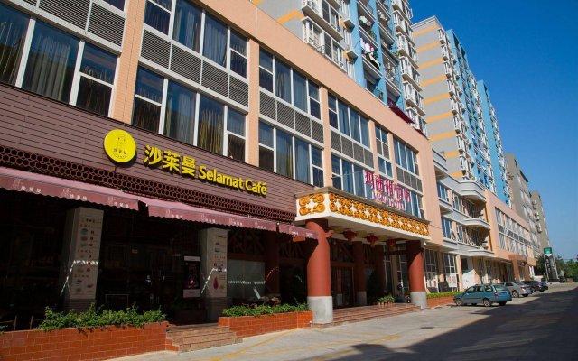 Guangzhou Masia Hotel вид на фасад