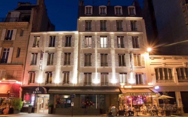 Отель Hôtel Courcelles Étoile вид на фасад