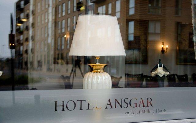 Milling Hotel Ansgar вид на фасад