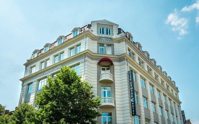 City Center Hotel Тбилиси вид на фасад