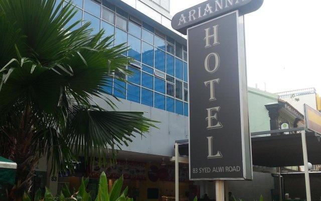 Arianna Hotel вид на фасад