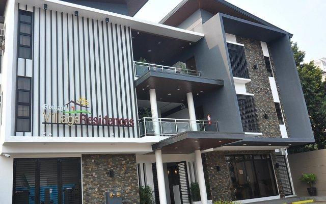 Отель Rishan Village Residences Филиппины, Пампанга - отзывы, цены и фото номеров - забронировать отель Rishan Village Residences онлайн вид на фасад