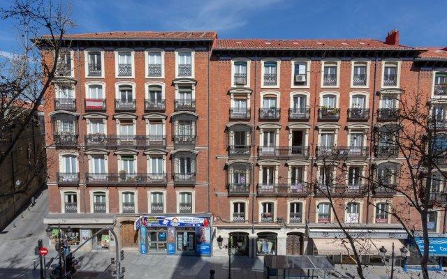 Отель Apartamento Atocha Испания, Мадрид - отзывы, цены и фото номеров - забронировать отель Apartamento Atocha онлайн вид на фасад