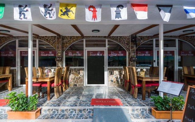 Отель Chalet Suisse Паттайя вид на фасад
