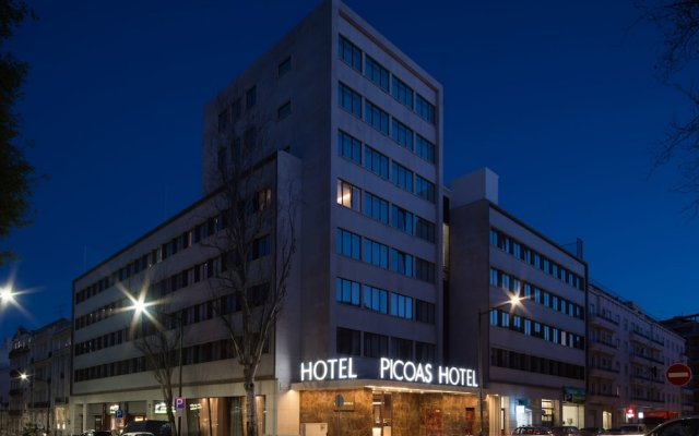 VIP Executive Picoas Hotel вид на фасад