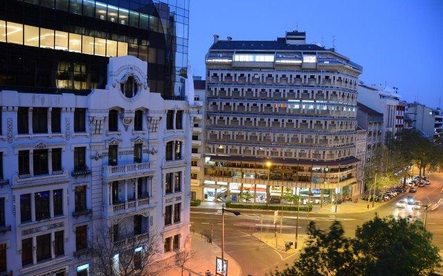 Hotel Flamingo Лиссабон вид на фасад
