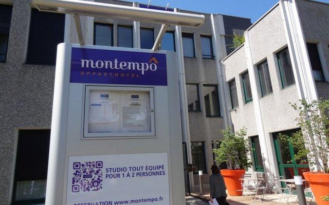 Отель Montempô Apparthôtel Lyon Sud Франция, Лион - 1 отзыв об отеле, цены и фото номеров - забронировать отель Montempô Apparthôtel Lyon Sud онлайн вид на фасад