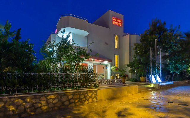 Отель Kalkan Suites вид на фасад