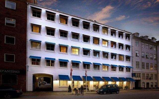 Отель Christian Iv Копенгаген вид на фасад