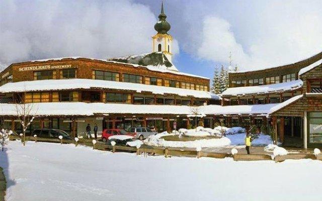 Отель Aparthotel Schindlhaus/Alpin вид на фасад