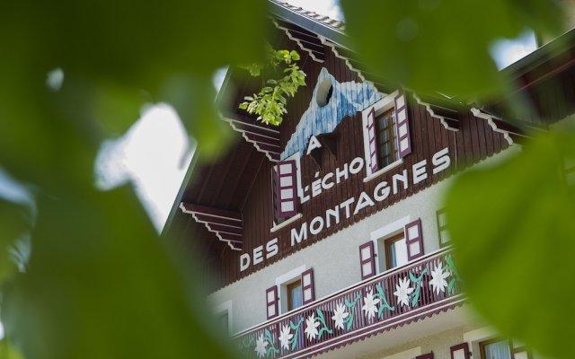 Отель Citotel L'Echo Des Montagnes Армой вид на фасад