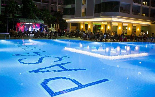 Pasa Beach Hotel - All Inclusive Мармарис вид на фасад