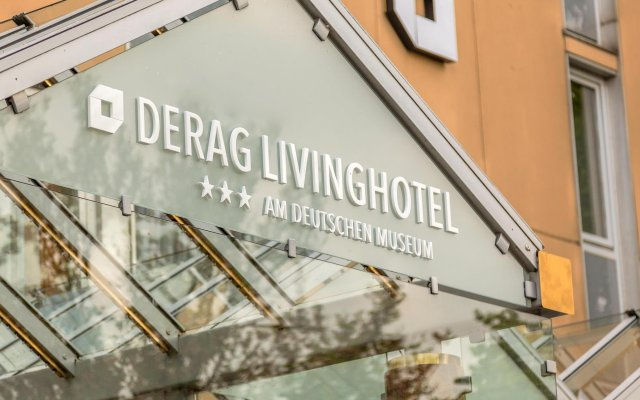 Living Hotel am Deutschen Museum by Derag вид на фасад