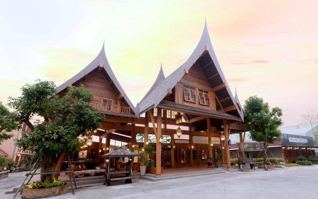Отель Naina Resort & Spa вид на фасад