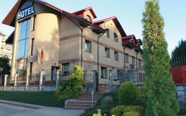 Отель Amicus Hotel Литва, Вильнюс - 5 отзывов об отеле, цены и фото номеров - забронировать отель Amicus Hotel онлайн вид на фасад