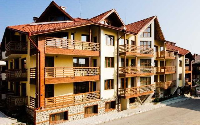 Отель Eagles Nest Aparthotel Болгария, Банско - отзывы, цены и фото номеров - забронировать отель Eagles Nest Aparthotel онлайн вид на фасад