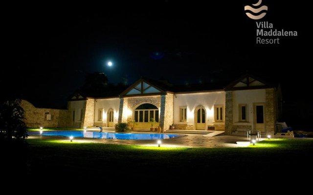 Отель Villa Maddalena Resort Солофра вид на фасад