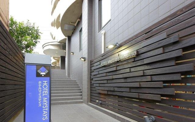 Hotel MyStays Asakusa вид на фасад