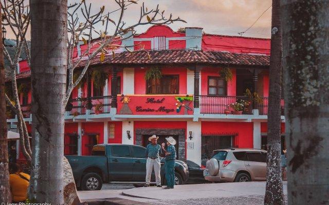 Hotel Camino Maya вид на фасад